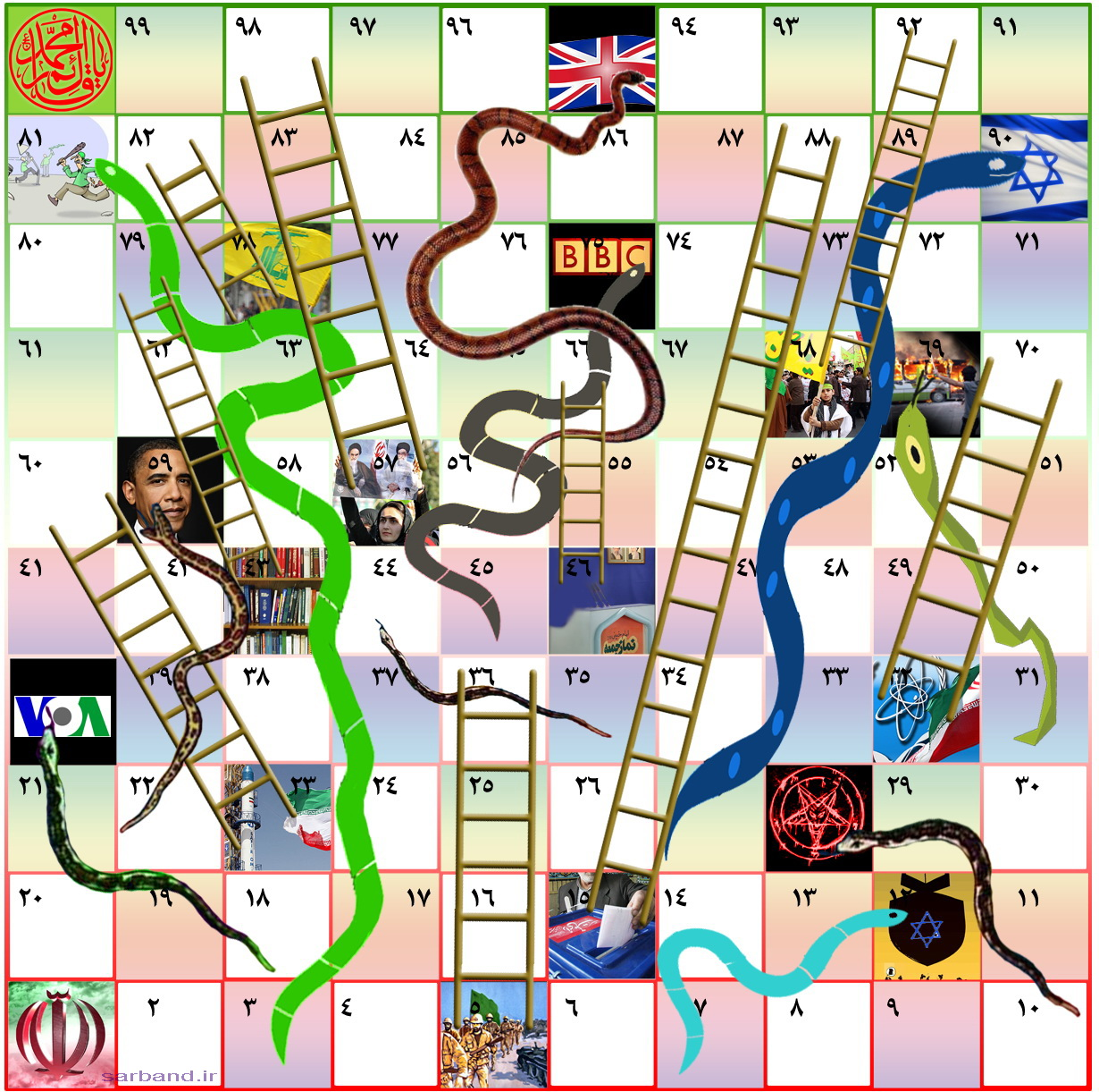... re-invent children's board game Snakes and Ladders | Sassy Wire