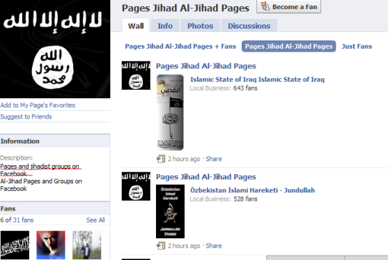 Image result for pics of facebook and jihad