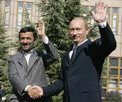 Putin & Ahmadinejad